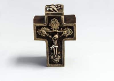 керамична Прима кръст кафява