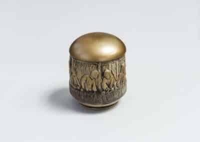 керамична Тайната вечеря злато